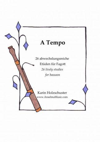 A Tempo Fagott Etüden Karin Holzschuster Bassoon Etudes
