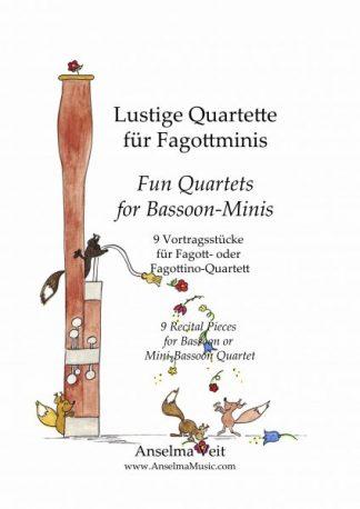 Lustige Quartette für Fagottminis Anselma Veit