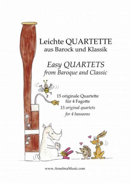 Leichte Quartette Fagott Quartett
