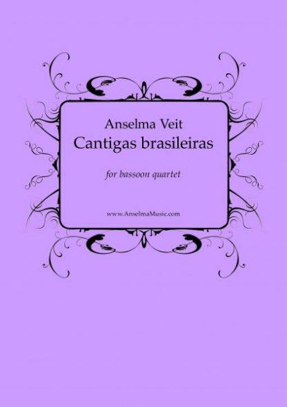Cantigas Fg4 Anselma Veit Fagott Quartett Bassoon Quartet
