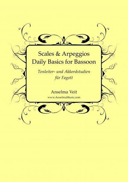Scales and Arpeggios for Bassoon Tonleiterstudien Fagott