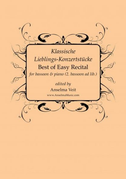Best of Easy Recital Fagott Klavier