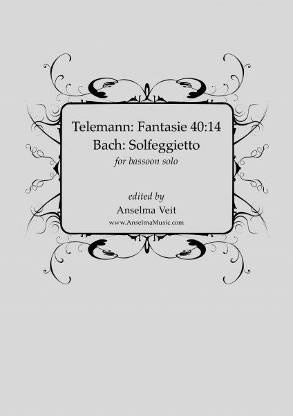 Telemann Fantasie Solfegietto Bach Fagott Bassoon Solo