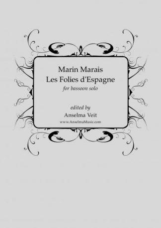 Marin Marais Les Folies d'Espagne Fagott Bassoon Solo