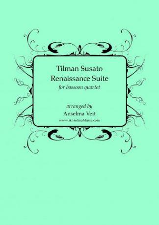 Susato Renaissance Suite Fagott Quartett