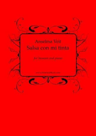 Salsa con mi tinta Anselma Veit Fagott Klavier Bassoon Piano