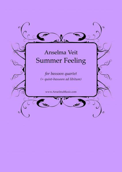 Summer Feeling Anselma Veit Fagott Quartett Bassoon Quartet