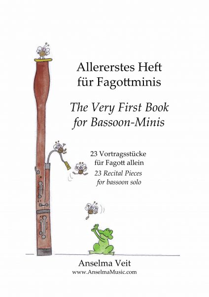 Allererstes Etüden Heft für Fagott Anselma Veit