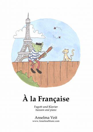 A la Francaise Anselma Veit Fagott Klavier Bassoon Piano