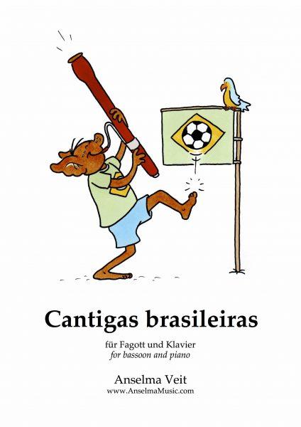 Cantigas brasileiras Fagott Klavier Anselma Veit