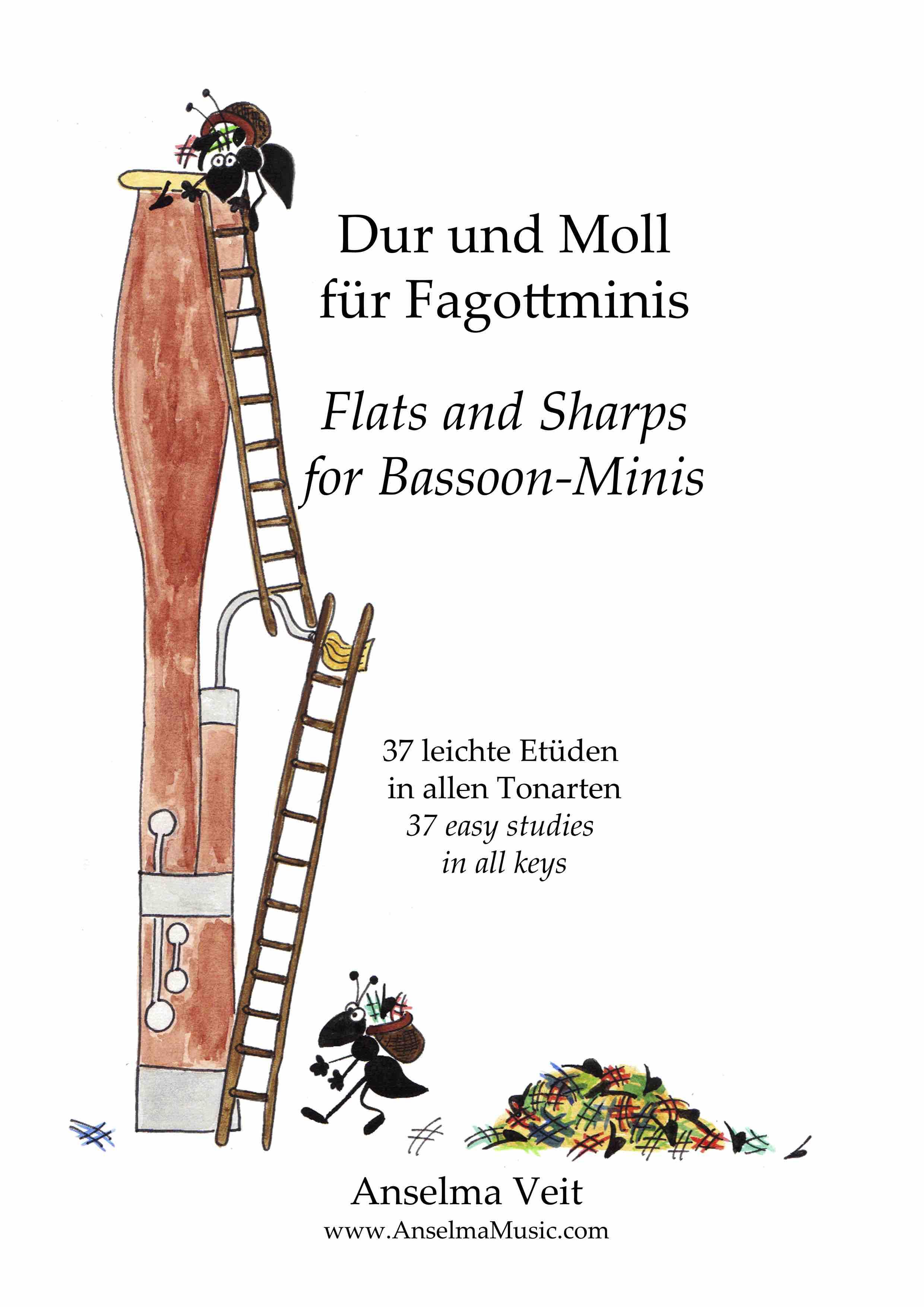 Dur und Molls für Fagottminis Fagott Etüden Anselma Veit