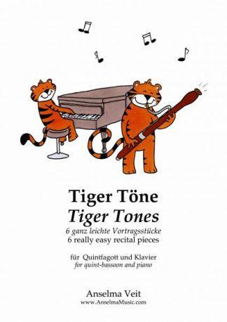 Tiger Töne Quintfagott und Klavier Anselma Veit