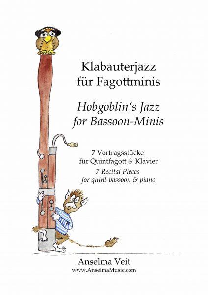 Klabauterjazz Fagottino und Klavier Anselma Veit