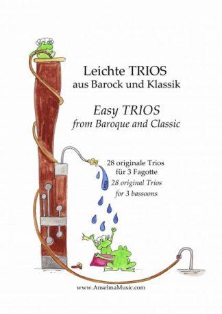 Leichte Trios Fagott Trio
