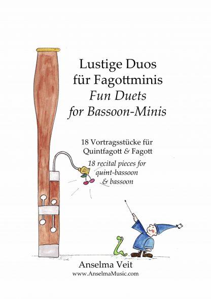 Lustige Duos fuer Fagottminis QUINT Quintfagott Fagottino Fagott Anselma Veit