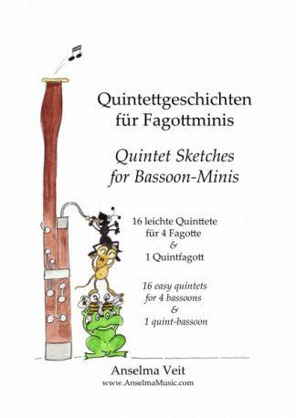 Quintettgeschichten Fagott Ensemble Anselma Veit