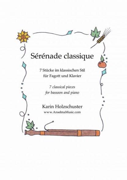 Serenade classique Fagott Klavier Karin Holzschuster