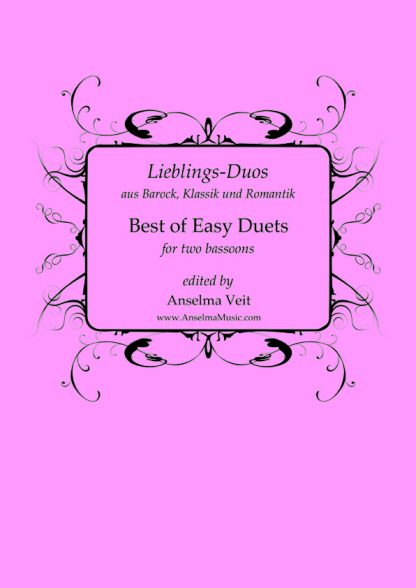 Best of Easy Duets Bassoon Duo Fagott Duett